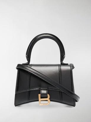 Balenciaga mini Hourglass top handle bag