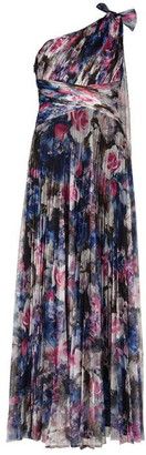 Adrianna Papell Print Tulle Gown