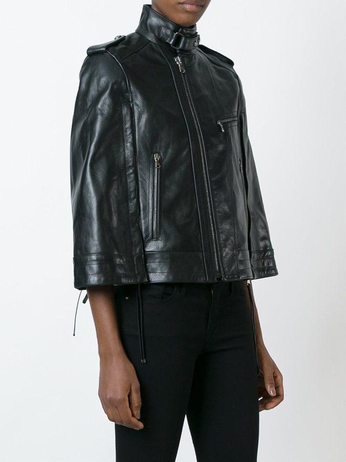 Diesel Black Gold wide sleeve zipped jacket