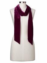 Gap Velvet skinny scarf