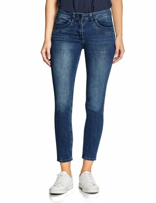 Cecil Women's 372400 Charlize Slim Fit Straight Jeans
