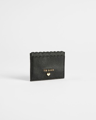 Ted Baker Leather Scallop Detail Card Holder