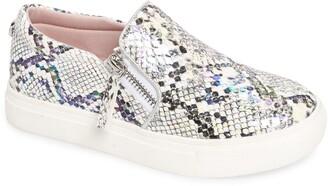 Steve Madden Glam Snake Print Slip-On Sneaker