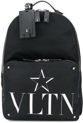 Valentino VLTNSTAR print backpack