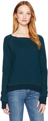 Pam & Gela Women's Annie Hi Low Sweatshirt-f17