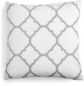"Charter Club Damask Designs Geometric 18"" Square Decorative Pillow"