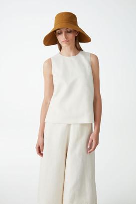 Cos Organic Cotton Asymmetric Sun Hat