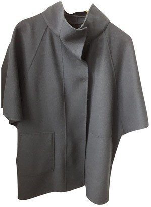 Max Mara Weekend Navy Wool Coat for Women