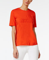 Love Moschino Cotton Logo T-Shirt