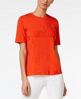 Love Moschino Cotton Logo T-Shirt