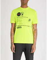 McQ Acid House jersey T-shirt