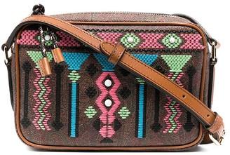 Etro Embroidered Paisley Print Shoulder Bag