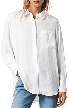 AllSaints Bernie High/Low Shirt