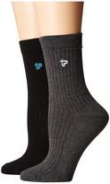 Pact Organic Cotton Socks 2-Pack Women's Knee High Socks Shoes