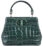 Bvlgari Mini Alligator Isabella Rossellini Bag