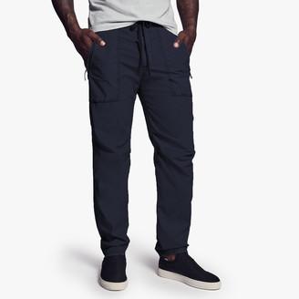 James Perse Stretch Poplin Zip Pocket Pant