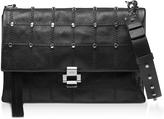 N°21 Studded Leather Flap Top Shoulder Bag