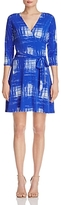 Leota Perfect Wrap Mini Dress