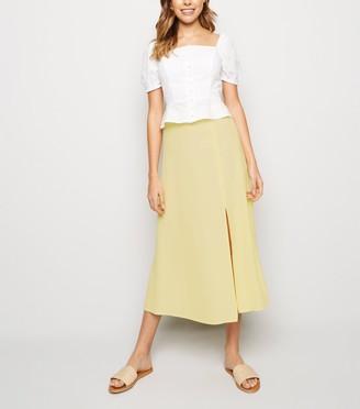 New Look Split Side Midi Skirt
