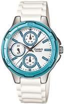 Casio Women's Core LTP1326-2AV Silver Resin Quartz Watch with Dial