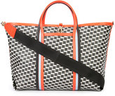 Pierre Hardy printed shopper tote - unisex - Calf Leather/Canvas - One Size
