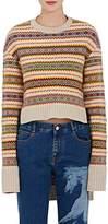 Stella McCartney Women's Fair Isle Wool High-Low Sweater