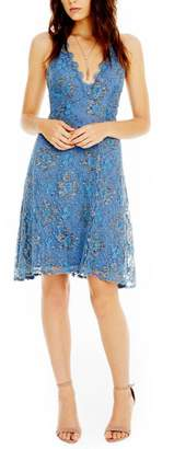 Astr Periwinkle Lace Dress