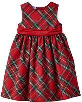 Girls 4-6x Blueberi Boulevard Pleated Plaid Dress