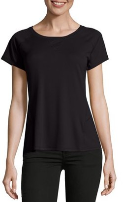 Hanes Sport Women's Performance Tee with Mesh Insets