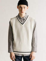 [Unisex] Cricket Knit Vest Ivory