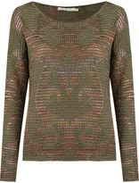 Cecilia Prado round neck knitted blouse