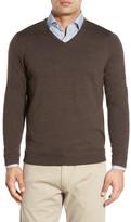 John W. Nordstrom Merino Wool V-Neck Sweater (Regular & Tall)