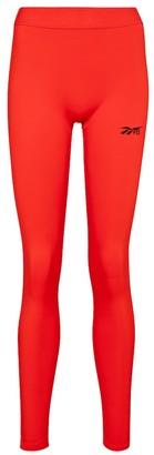 Reebok x Victoria Beckham High-rise technical-jersey leggings