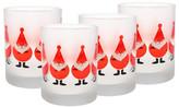 Culver Red Elves Glass - Set of 4