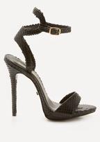 Bebe Jilliana Ankle Wrap Sandals
