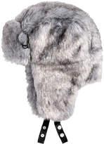 Sean John Men's Faux Fur Trapper Hat