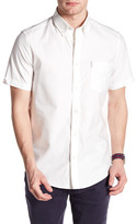 Ben Sherman Short Sleeve Regular Fit Oxford Shirt