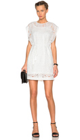 McQ by Alexander McQueen Lace Cape Dress
