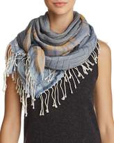 Echo Stripe Patchwork Casual Scarf