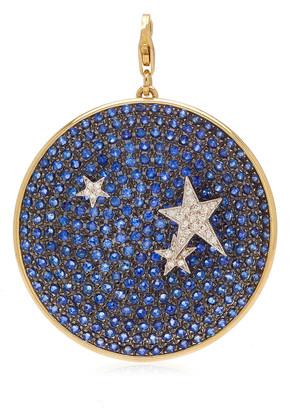 Have A Heart x MUSE Elena Votsi Large Night Sky Charm with Diamond Stars & Sapphires