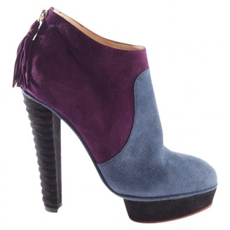 Charlotte Olympia Multicolour Cloth Ankle boots