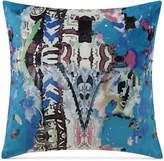 "Tracy Porter Iris 18"" Square Decorative Pillow Bedding"