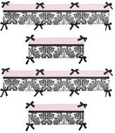 JoJo Designs Sweet Sophia Collection Crib Bumper