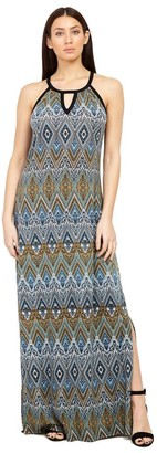 M&Co Izabel tribal print maxi dress