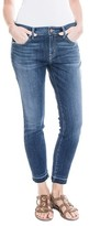 Level 99 Women's Amber Slouchy Release Hem Skinny Jeans