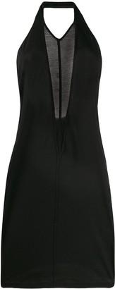 Rick Owens Backless Short Dress