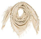 Stella McCartney Patterned Fringe Scarf