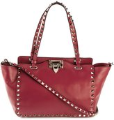Valentino 'Rockstud' trapeze tote - women - Calf Leather/Metal (Other) - One Size