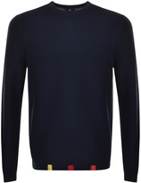 PS By Paul Smith Pullover Crew Neck Jumper Navy