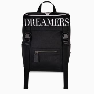 Valentino Black VLOGO Dreamers Backpack